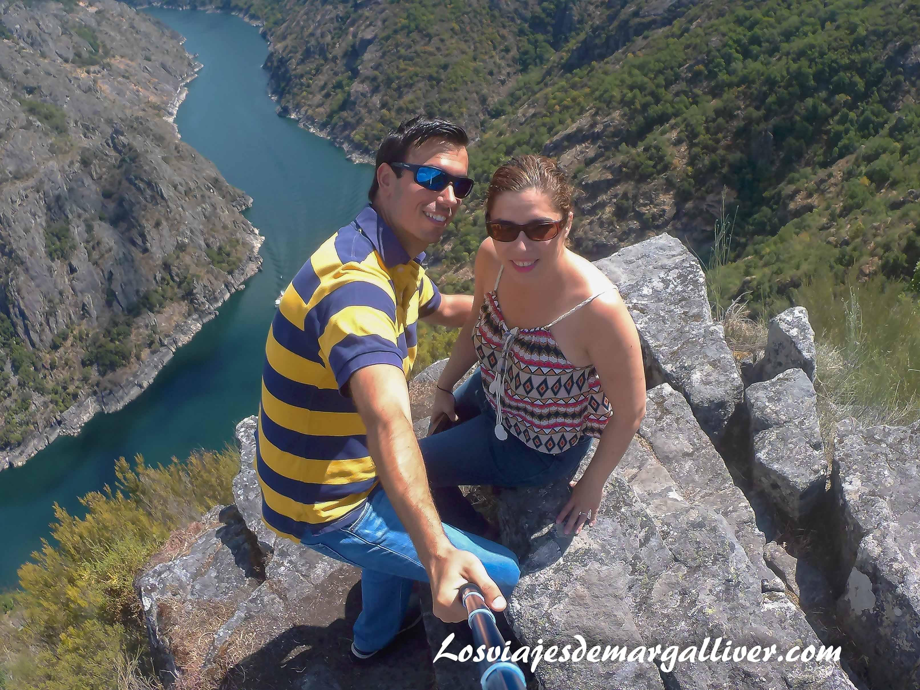 Mirador de Vilouxe a los cañones del rio Sil en la Ribeira Sacra , resumen viajero 2017 - Los viajes de Margalliver